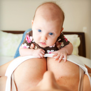 Breastfeeding Gives You Bigger Breasts