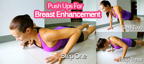Breast Enhancement Exercises pushups exercise